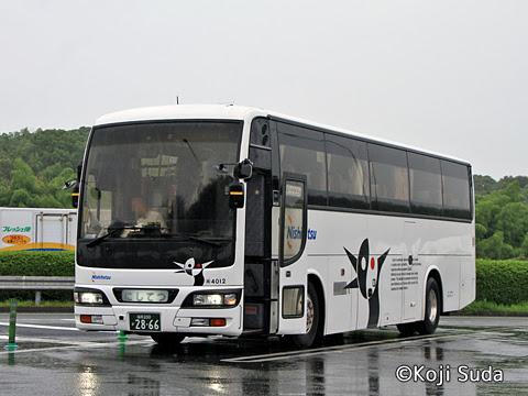 西鉄 4012 直方PA(上り)にて_01