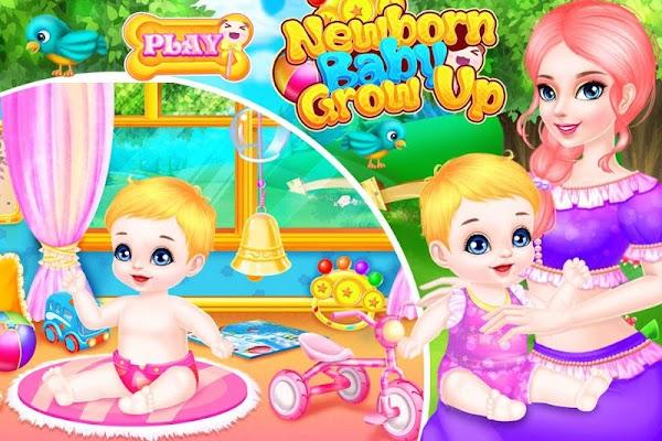 Newborn Baby Grow Up - screenshot