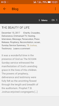 Prophet T  B  Joshua APK Latest Version Download - Free Lifestyle