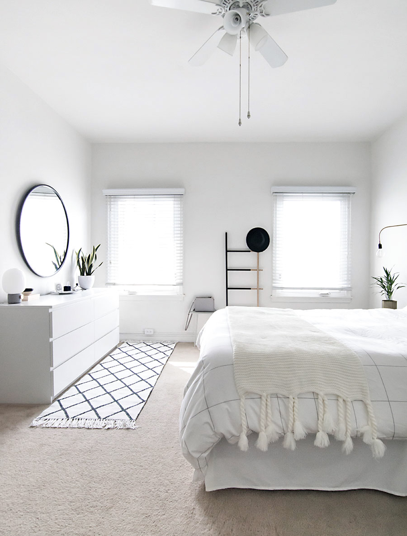 Minimal Scandinavian Bedroom