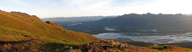 Photo: Sunrise: Knik River Valley