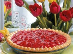 Strawberry Satin Pie Recipe
