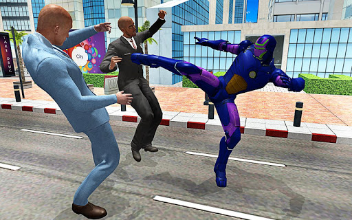 (APK) تحميل لالروبوت / PC Iron Hero: City Legend Battle ألعاب screenshot