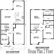 House Plan 2 Floor icon