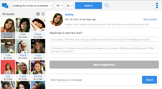 Meet-me dating chat romance for laptop
