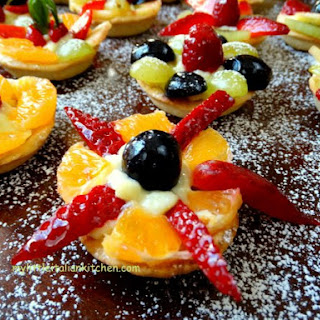 Gorgeous Mini Fruit Tarts – Step By Step Tutorial