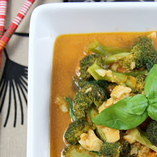 Thai Red Curry Fish Stew