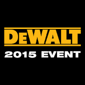DEWALT 2015 Event