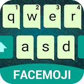 Simple Keyboard Theme for WhatsApp