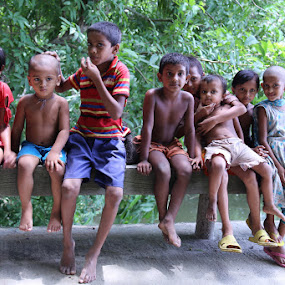 Happy Children by Kaniz Khan - Babies & Children Children Candids ( bangladesh, happy, children, barebody, rural )