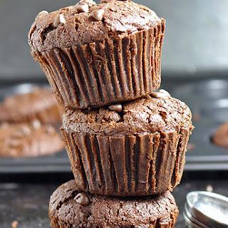 Chocoholic Chocolate Chip Muffins.