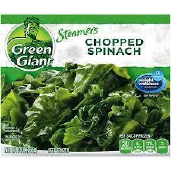 Cook frozen spinach in microwave and cool completely. When cool, squeeze out any liquid...