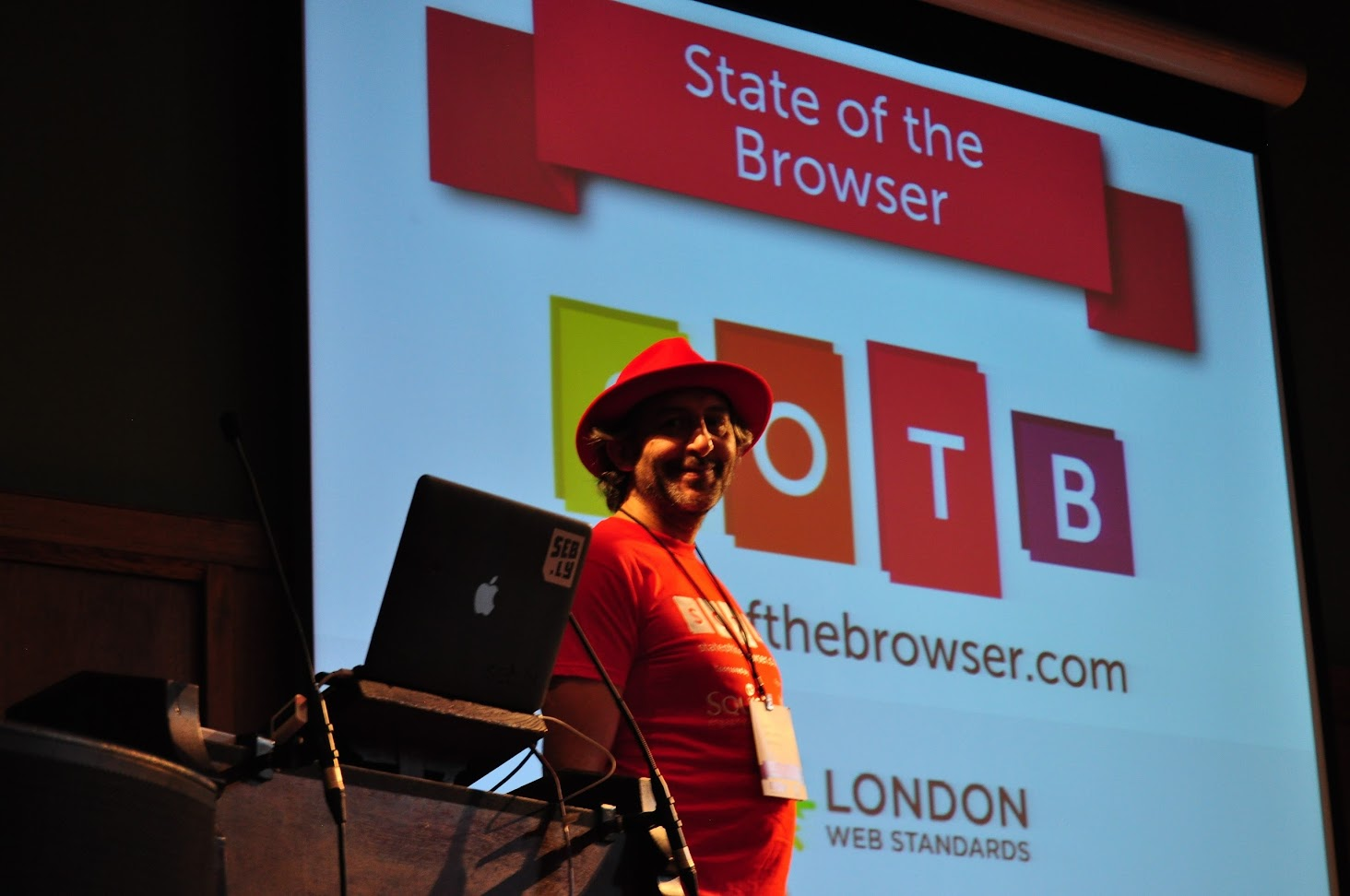 Dave Letorey at State of the Browser