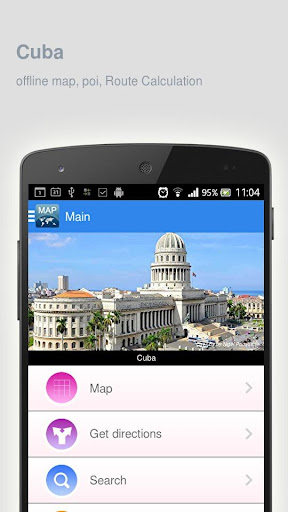 Cuba Map offline