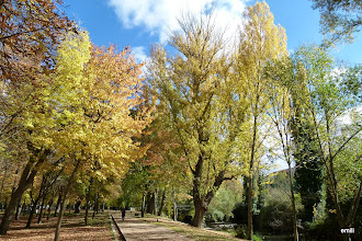 Photo: Alameda río Eresma en Segovia