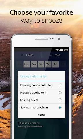 android Alarm Clock Xtreme + Sleep Screenshot 5