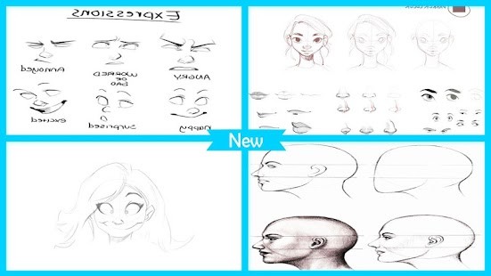 Easy Drawing Face Tutorial - Android Apps on Google Play