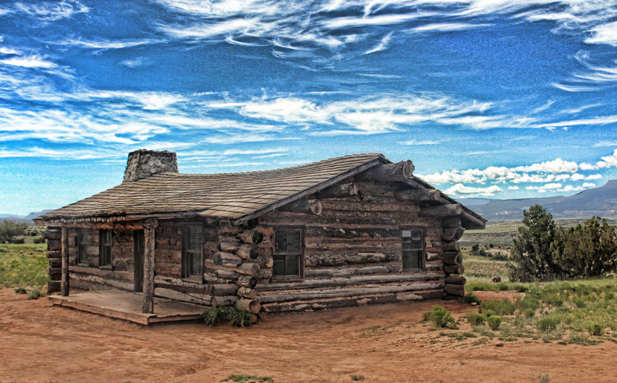 Abandoned Cabin In NM by Nancy Tubb - Buildings & Architecture Decaying & Abandoned ( cabin, abandoned cabin, southwest, new mexico, abandoned )