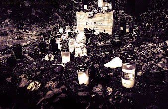 Photo: Taken during the #photowalk over the Melaten. Rest in peace #dirkbach .  #cologne #cemetery #melatencemetery #bw #sacredsunday  +KPW H-12