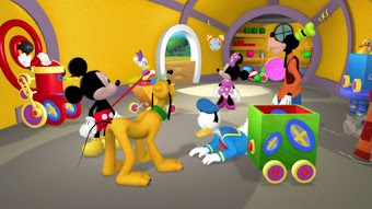 Le petit train de Mickey