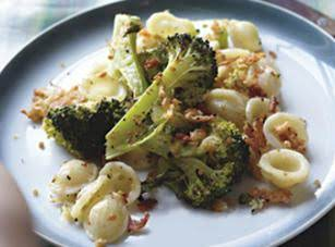 Roasted Broccoli With Orecchiette Recipe