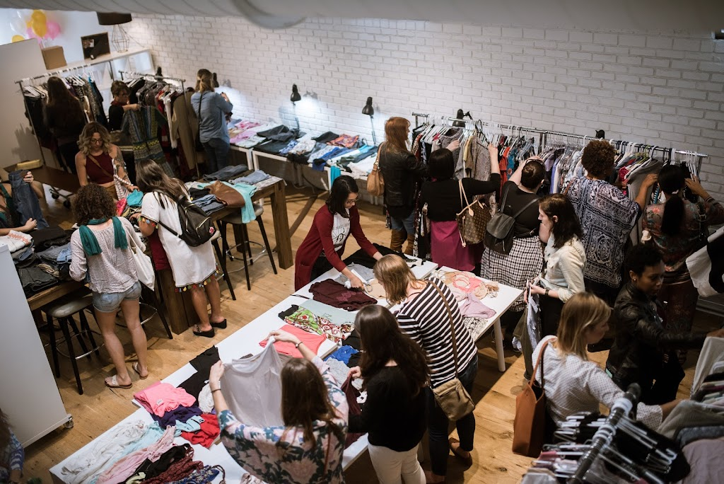 LadyBoss Social Club - Clothing Swap Party and Silent Auction to raise awareness and funds to purchase period supplies for local homeless women and girls in South Florida