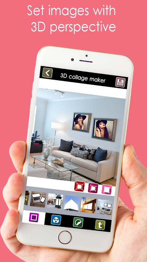 Photo Collage Maker 3d Android Apps On Google Play