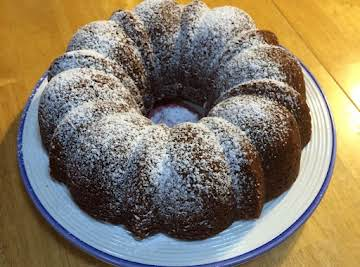 Bananas n' Cream Bundt Cake