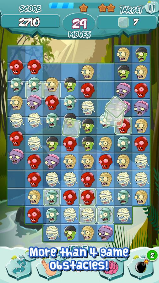 Zombie Match Smash