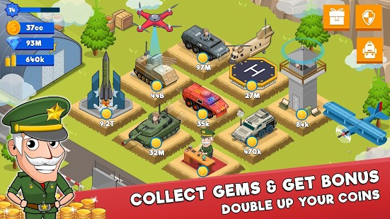 ApkMod1.Com Idle Army Tycoon + (Mod Money) for Android Game Role Playing