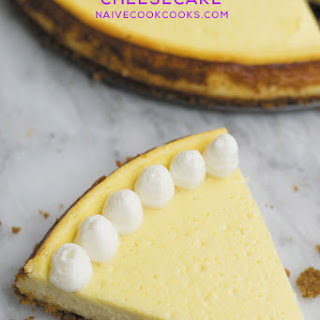 Easy New York-Style Cheesecake
