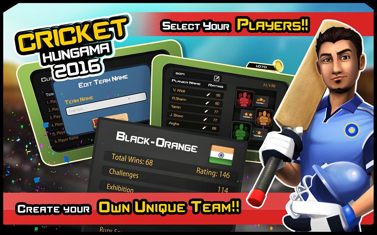 Screenshots of Cricket Hungama 2016 for iPhone