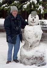 Photo: Dick and Friend at Yosemite National Park (December 2003)