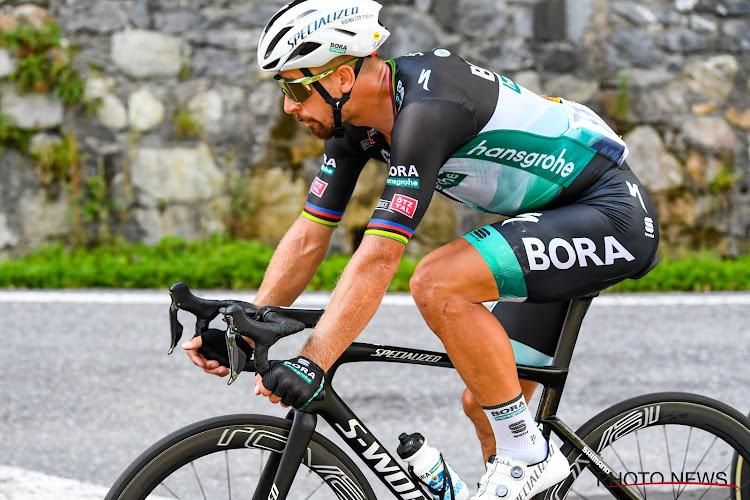 """Net geen podium voor Sagan: """"Nog niet in positie die mij toelaat aanvallen Van Aert en Alaphilippe te beantwoorden"""""""