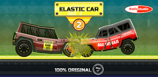 ELASTIC CAR 2 CRASH TEST SIMULATOR FOR ANDROID! Angry asphalt racing ★★★★★