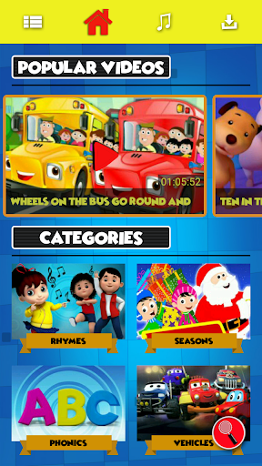 Kids Videos & Nursery Rhymes - Kids First 3.0.9 screenshots 1