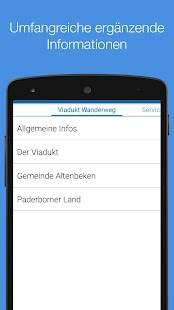 Viadukt Wanderweg- screenshot thumbnail