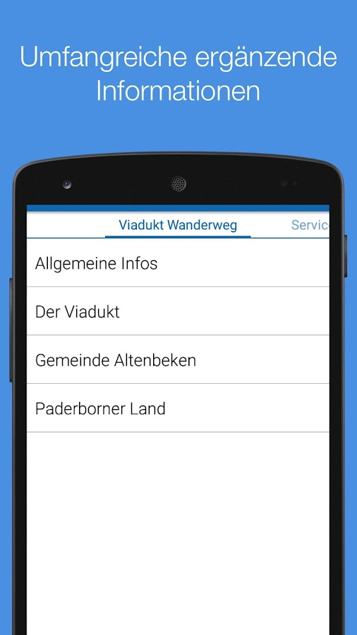 Viadukt Wanderweg- screenshot