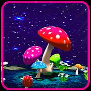 3D Mushroom Live Wallpaper Sky