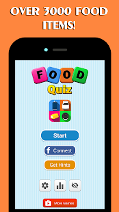 Food Quiz- screenshot thumbnail