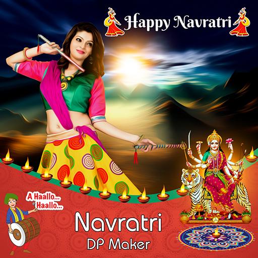 Navratri DP Maker / Navratri Profile Picture Maker