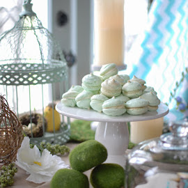 Shower with love and cookies by Nan Oliver - Food & Drink Candy & Dessert ( baking, baby shower, macarons, family, food )