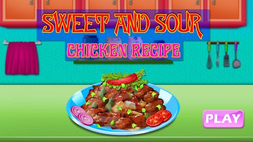 Code Triche Sweet and Sour Chicken Recipe apk mod screenshots 1