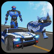 Multi Police Rhino Robotic Car vs Evil Robots 1.0