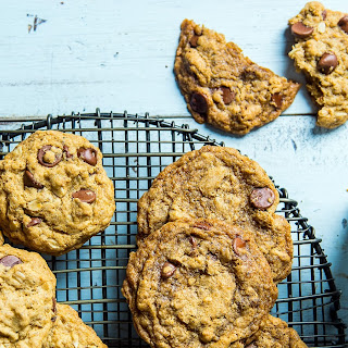 Chewy or Crispy Chocolate Chip Cookies.