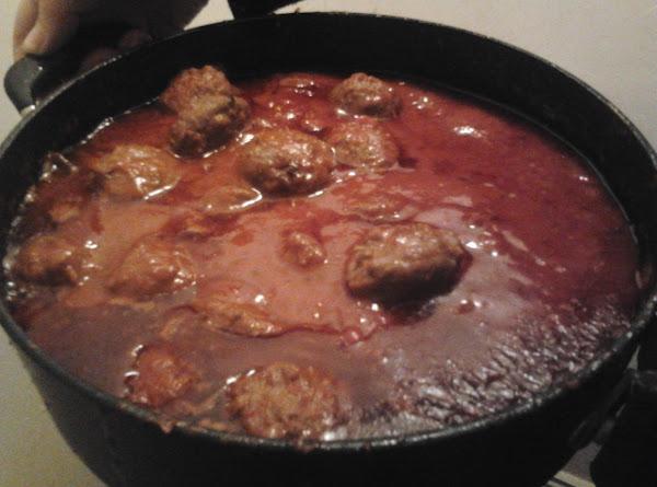 Italian Meatballs With An Irish Pudding Twist Recipe
