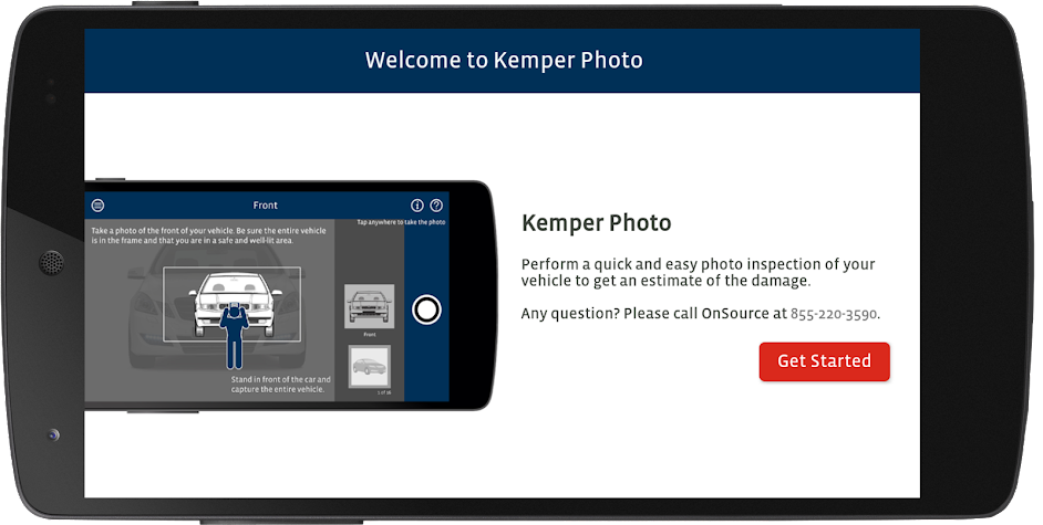 Kemper Photo Inspection Screenshot