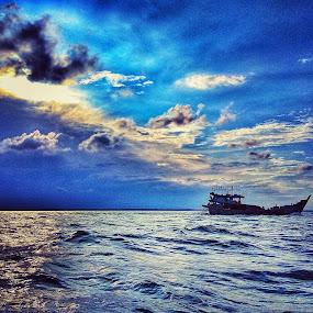 My Sea by Evan Septian - Public Holidays Thanksgiving ( #belawan #medan #indonesia )