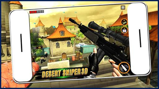 Army Desert Sniper : Fire Games- Free FPS 1.0.3 screenshots 1