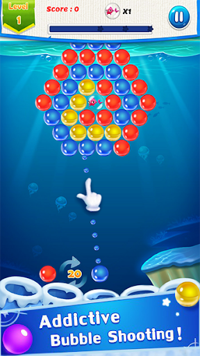 Fish Rescue : Bubble Shooter Game image